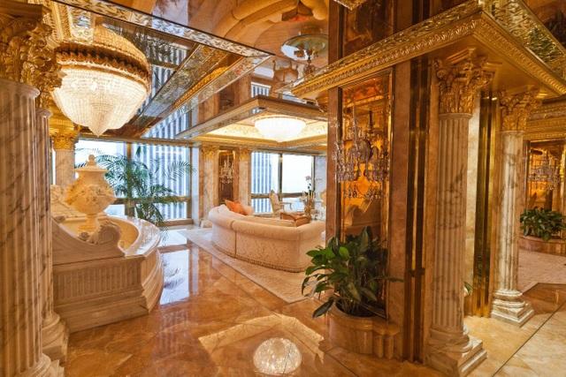Có gì bên trong căn Penthouse dát vàng của Tổng thống Donald Trump? - 1