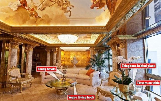 Có gì bên trong căn Penthouse dát vàng của Tổng thống Donald Trump? - 3