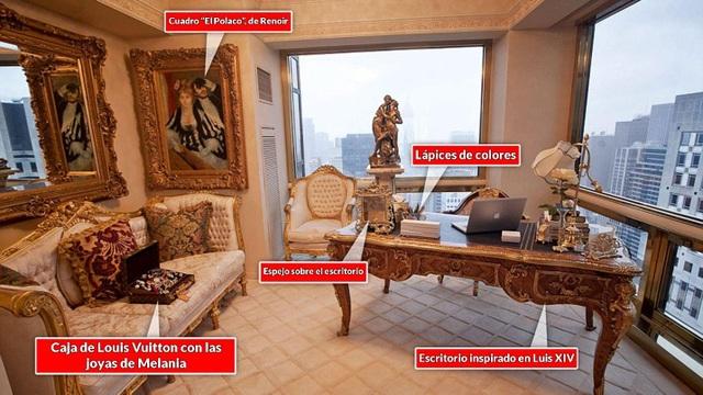 Có gì bên trong căn Penthouse dát vàng của Tổng thống Donald Trump? - 4