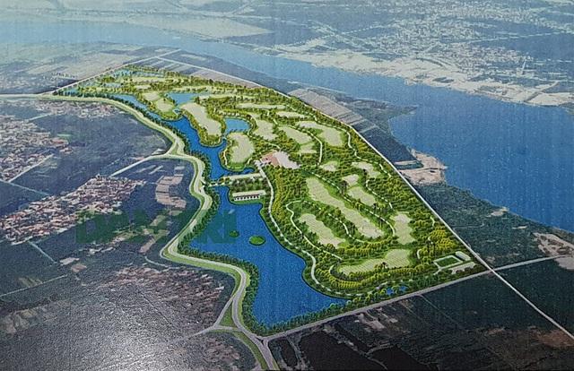 Khi có ngập lụt, dự án sân golf cạnh sông Đuống ứng phó như thế nào? - 1