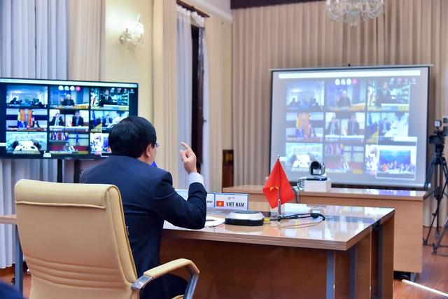 Bộ trưởng ASEAN – EU họp trực tuyến về chống dịch Covid-19 - 1