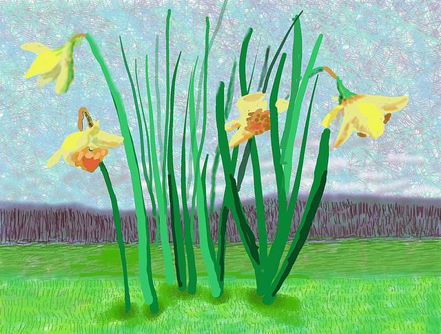 Bức tranh giúp lên tâm trạng trong giai đoạn khó khăn