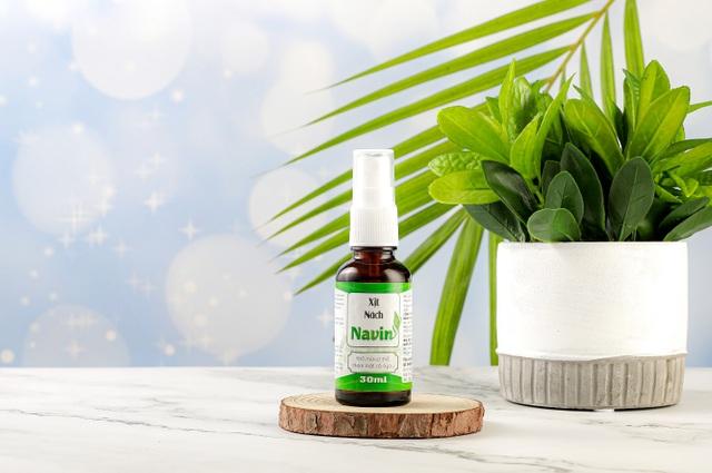 Xịt nách Navin – bảo vệ làn da dưới cánh tay khỏe mạnh và khô thoáng - 3