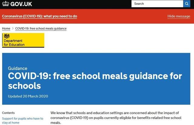 Covid-19: Anh tiếp tục cung cấp bữa ăn miễn phí cho học sinh khi nghỉ học - 1