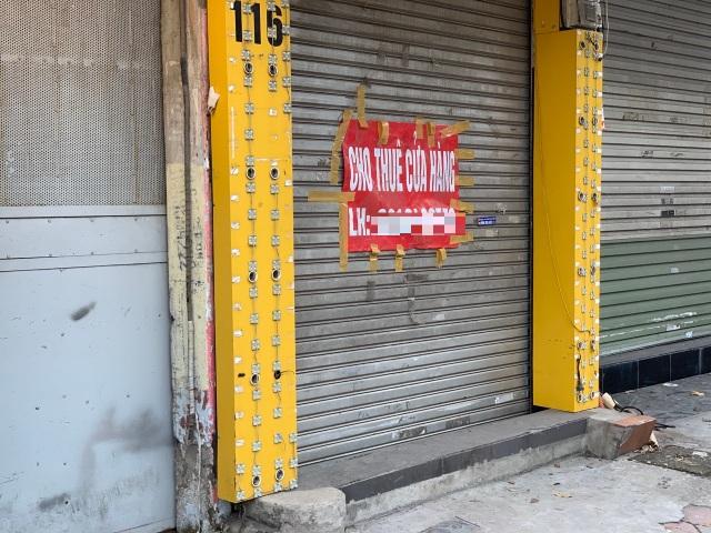 La liệt shop hàng đóng cửa, trả mặt bằng ở con phố sầm uất bậc nhất Hà Nội - 12