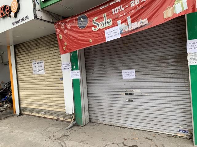 La liệt shop hàng đóng cửa, trả mặt bằng ở con phố sầm uất bậc nhất Hà Nội - 4