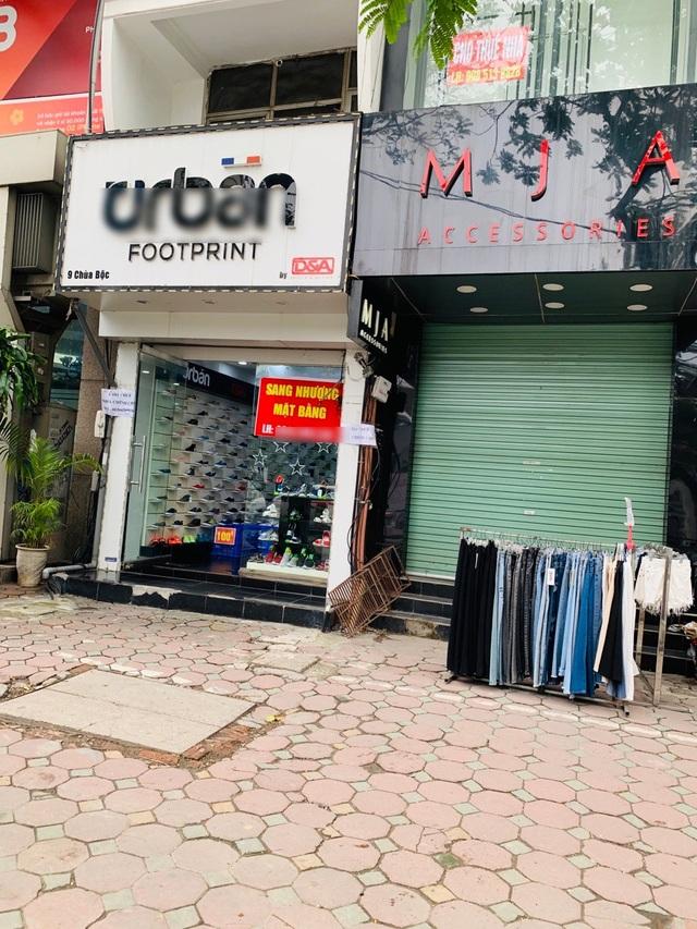 La liệt shop hàng đóng cửa, trả mặt bằng ở con phố sầm uất bậc nhất Hà Nội - 9