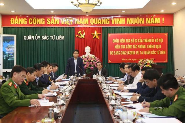 Chủ tịch Hà Nội: Dịch Covid-19 sẽ rất phức tạp trong 2 tuần tới - 1