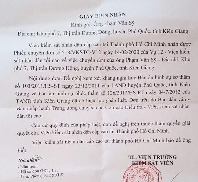Vụ cố ý gây thương tích tại Kiên Giang: VKSND cấp cao tại TP.HCM nói gì? - 1