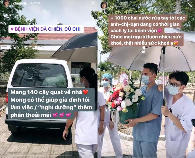 Hết hạn cách ly, Châu Bùi trở lại tặng quà tri ân y bác sĩ Củ Chi  - 4