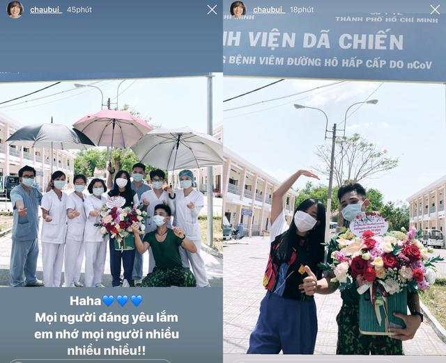 Hết hạn cách ly, Châu Bùi trở lại tặng quà tri ân y bác sĩ Củ Chi  - 5