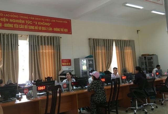 Thanh Hoá: Hơn 2.800 lao động đăng ký hưởng trợ cấp thất nghiệp - 4