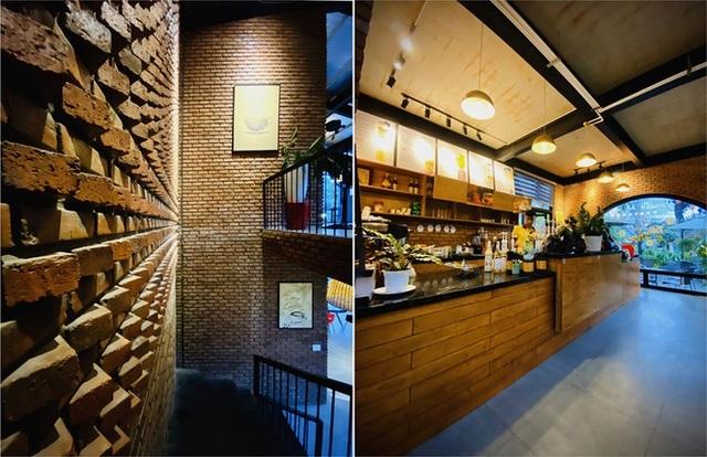 Ngôi nhà kết hợp quán cafe đẹp lạ nhờ nghệ thuật xếp gạch gây mê - 5