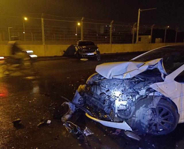 Ghi nhận tai nạn đầu tiên tại đường F1 ở Hà Nội? - 2