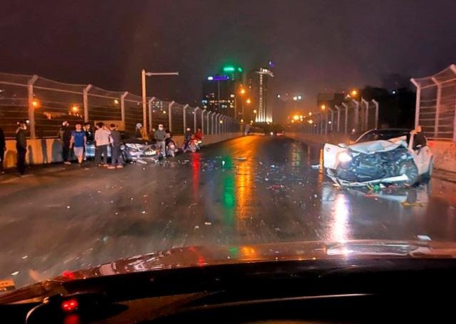 Ghi nhận tai nạn đầu tiên tại đường F1 ở Hà Nội? - 1