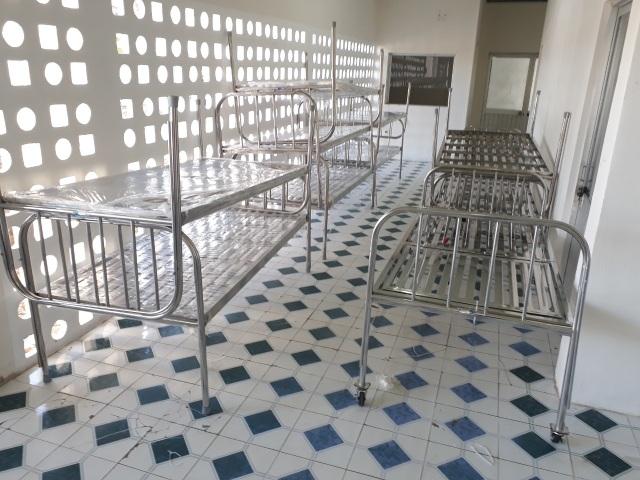 Qui Phúc lắp thêm giường cho bệnh viện chuyên trị Covid-19 Cần Giờ - 4