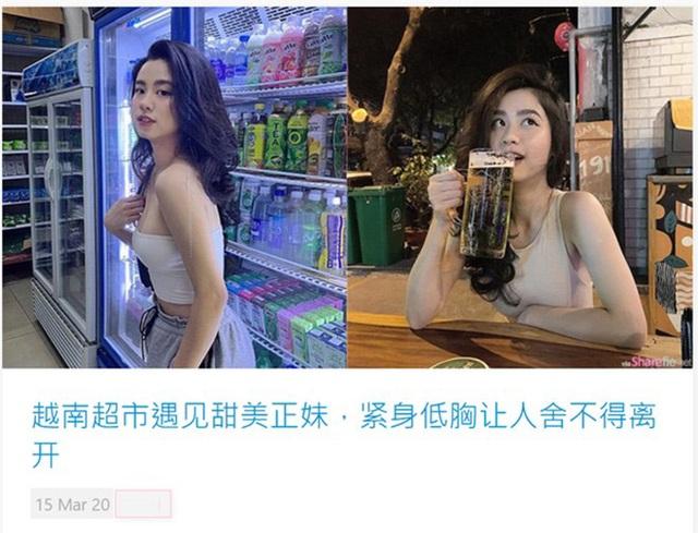 Hot girl thị phi Hàn Hằng được trang tin Trung Quốc hết lời khen ngợi - 1