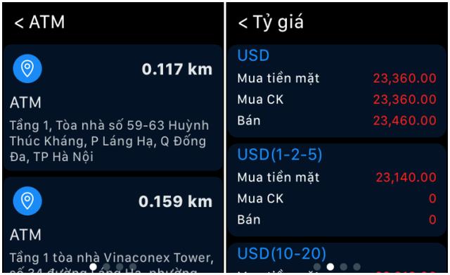 Trải nghiệm ngân hàng của tương lai, ứng dụng BIDV trên Apple Watch - 3