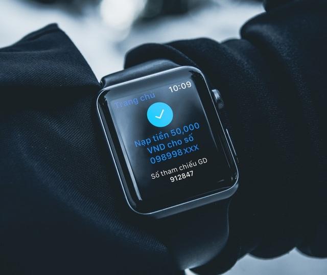 Trải nghiệm ngân hàng của tương lai, ứng dụng BIDV trên Apple Watch - 6