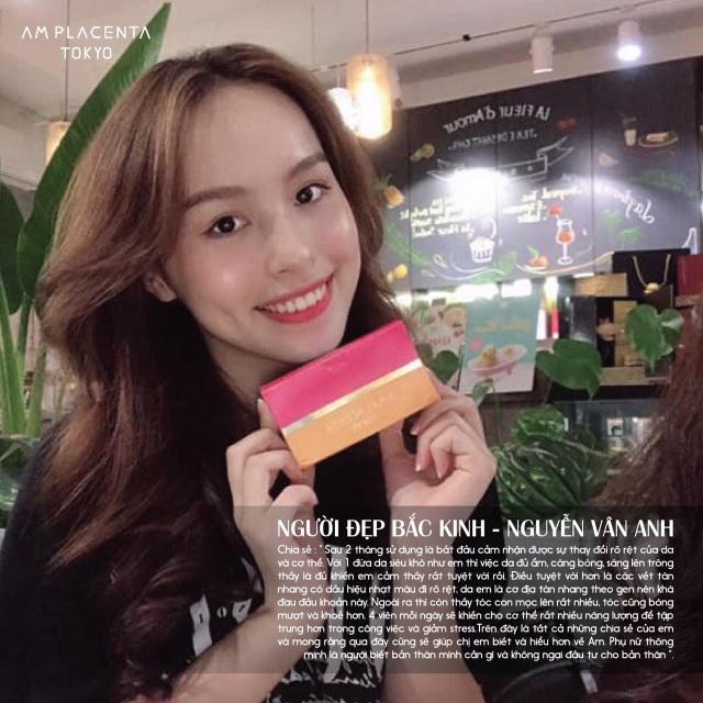 """Hot girl Việt Nam """"săn lùng"""" viên uống AM Placenta Tokyo - 3"""