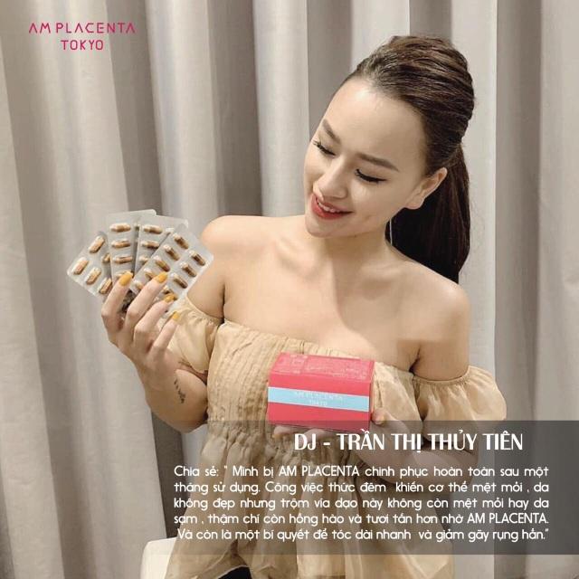 """Hot girl Việt Nam """"săn lùng"""" viên uống AM Placenta Tokyo - 5"""