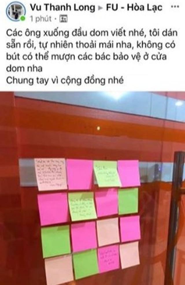 Lá thư đầy ắp tình người của sinh viên nhường ký túc xá gửi người cách ly - 6