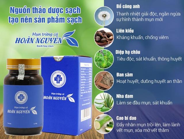 Mụn trứng cá Hoàn Nguyên - Giải pháp giảm mụn được VTV2 khuyên dùng - 3
