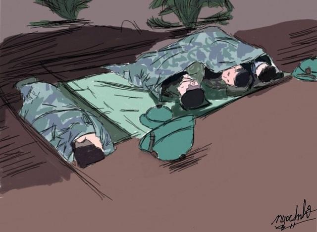 """Nữ sinh Quảng Nam vẽ tranh cảm ơn những """"người hùng"""" chống dịch Covid-19 - 5"""