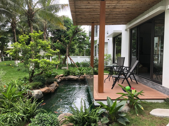 Chiêm ngưỡng biệt thự vườn đẹp như mơ của cặp vợ chồng trẻ Hà Nội - 2