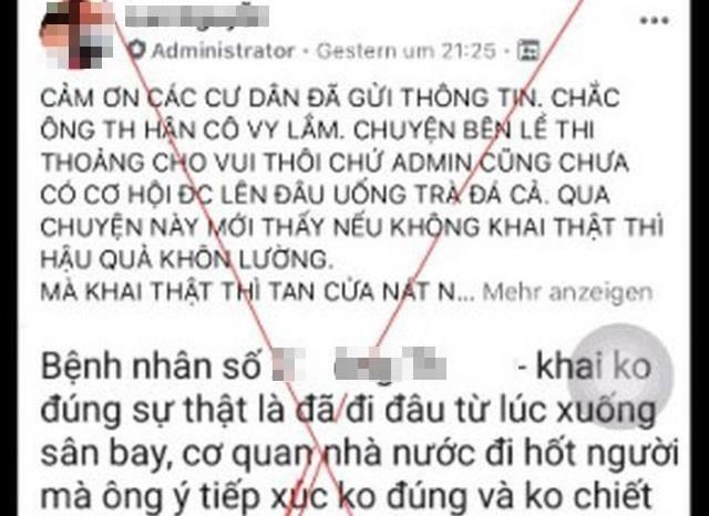 Triệu tập cô gái tung tin bệnh nhân số 17 là con Chủ tịch Thép Việt Ý - 3