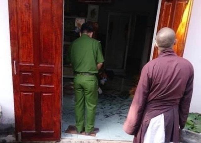 Bộ Công an điều tra vụ án mạng tại chùa Quảng Ân - 1