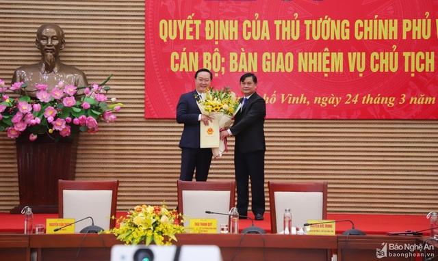 Thủ tướng phê chuẩn nguyên Thứ trưởng Bộ KH-ĐT làm Chủ tịch tỉnh Nghệ An - 1