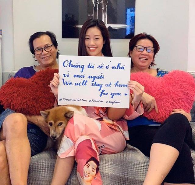 Hoa hậu H'Hen Niê, Khánh Vân kêu gọi mọi người hạn chế ra đường mùa dịch - 5
