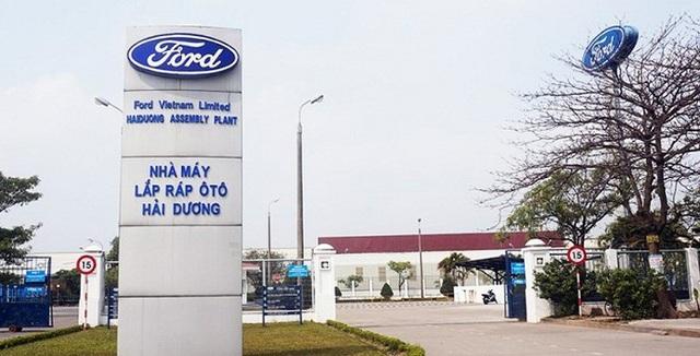 Ford tạm dừng nhà máy tại Hải Dương để phòng tránh dịch Covid-19 - 1