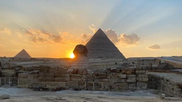 Phân điểm tiết lộ một bí mật của tượng Nhân sư ở Ai Cập - 1