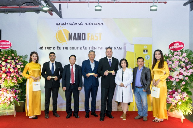 Ra mắt Nano fast viên sủi gout thảo dược đầu tiên tại Việt Nam - 1