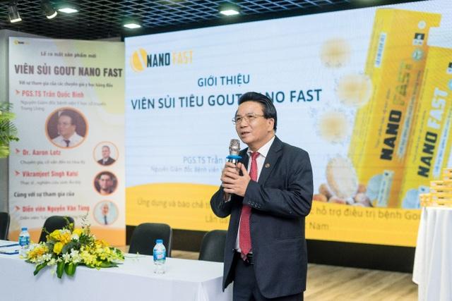 Ra mắt Nano fast viên sủi gout thảo dược đầu tiên tại Việt Nam - 2