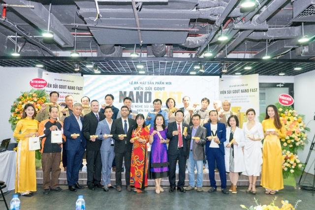Ra mắt Nano fast viên sủi gout thảo dược đầu tiên tại Việt Nam - 3