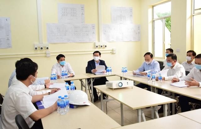 Bí thư Hà Nội: Sẵn sàng kích hoạt Bệnh viện dã chiến Mê Linh - 2