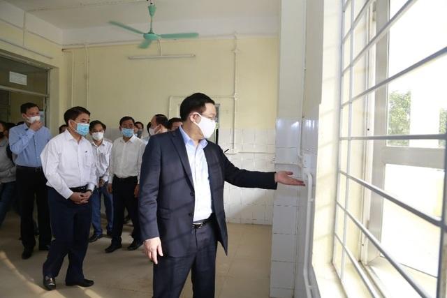 Bí thư Hà Nội: Sẵn sàng kích hoạt Bệnh viện dã chiến Mê Linh - 1