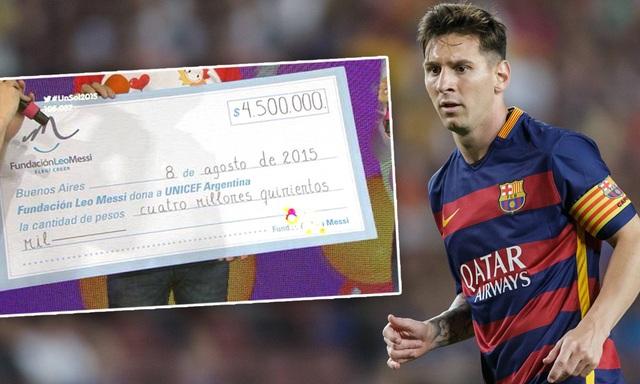 Messi, C.Ronaldo cùng ủng hộ 1 triệu euro chống Covid-19 - 1