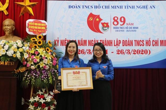 Nghệ An: Nữ bí thư Đoàn duy nhất nhận giải thưởng Lý Tự Trọng 2019 - 4