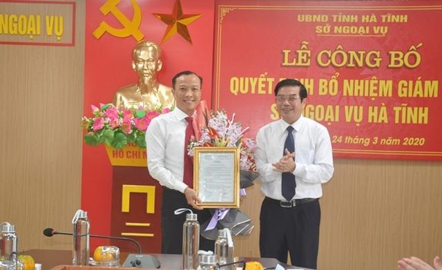 Hà Tĩnh có tân Giám đốc Sở Ngoại vụ - 1