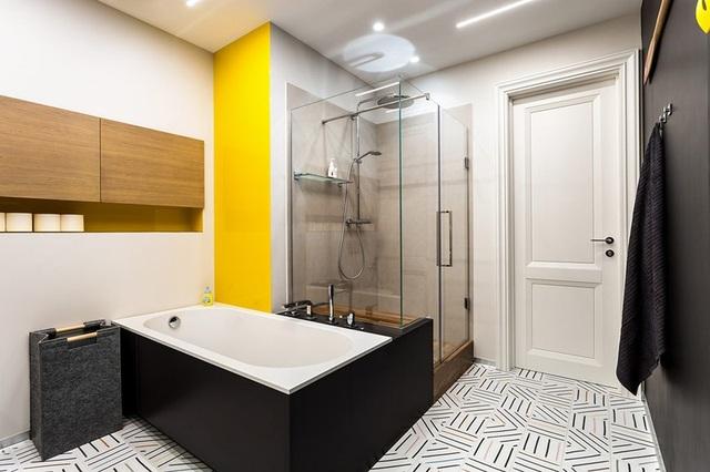 Ngôi nhà trang trí nội thất màu xanh và vàng lạ mắt - 12