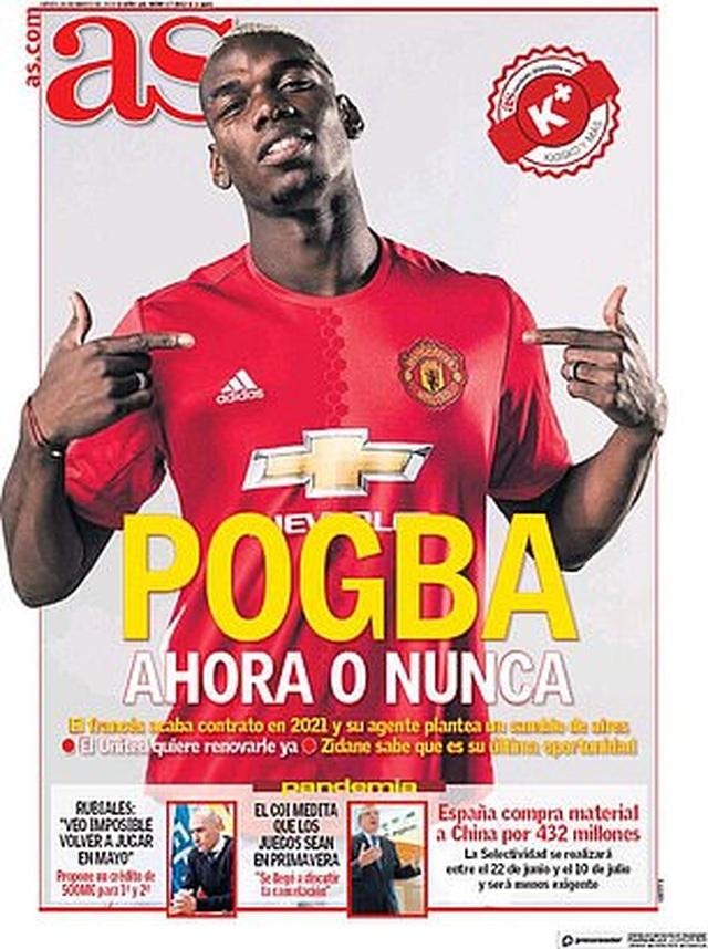 Real Madrid đứng trước cơ hội lớn chiêu mộ Pogba