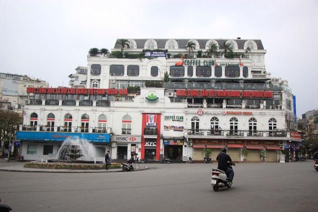 Công an hối hả đi vận động, hàng loạt quán cà phê ở Hà Nội đóng cửa - 7