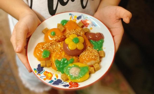 Chiêm ngưỡng những đĩa bánh trôi của nhà trồng được giữa mùa dịch - 4