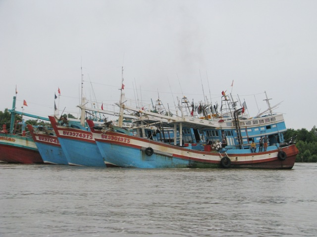 Lo ngại dịch bệnh Covid-19 trước hàng ngàn ngư phủ vào cửa biển mỗi tháng - 1