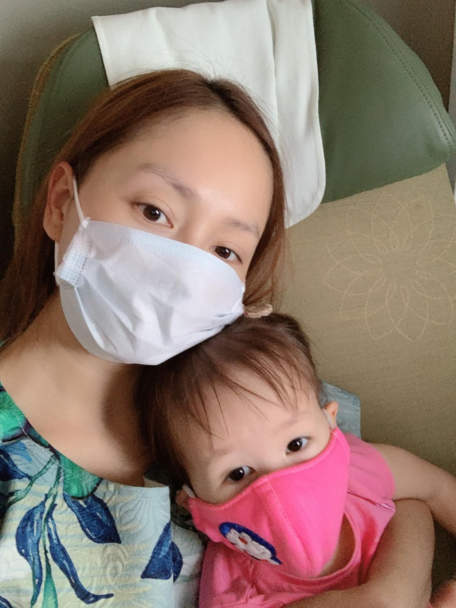 Lan Phương đưa con gái ra Hà Nội giữa dịch bệnh khiến Minh Vượng hốt hoảng - 1