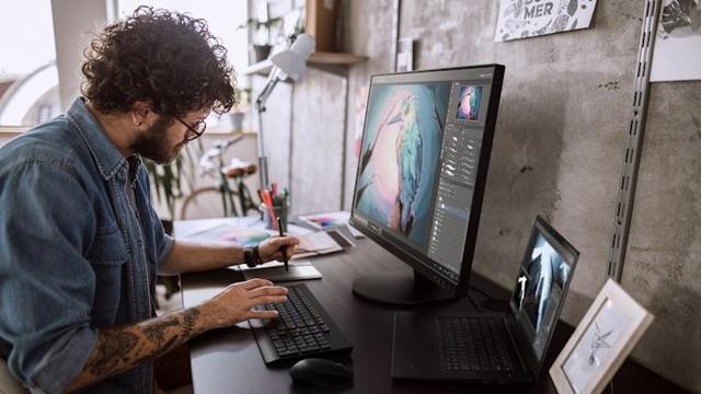 Lenovo ThinkVision S28u-10: Hoàn hảo cho không gian văn phòng - 3